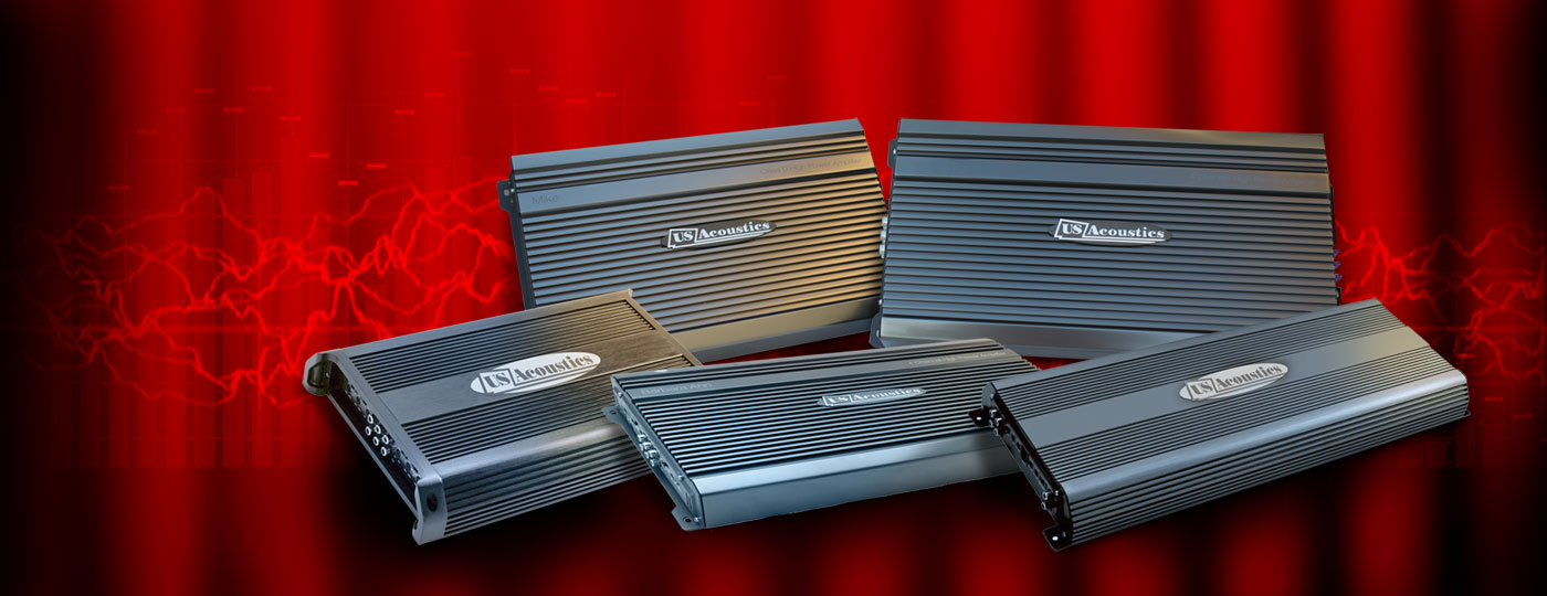 US acoustics car audio amplifiers sound supremacy